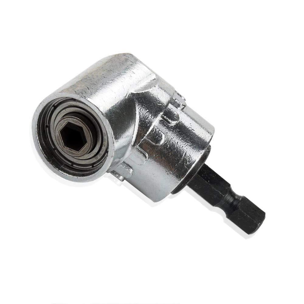 QISF - Destornillador magnético de 105 grados de ángulo recto para ...