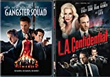 LA Crime Thriller DVD Double Feature: L.A. Confidential & Gangster Squad 2 Pack