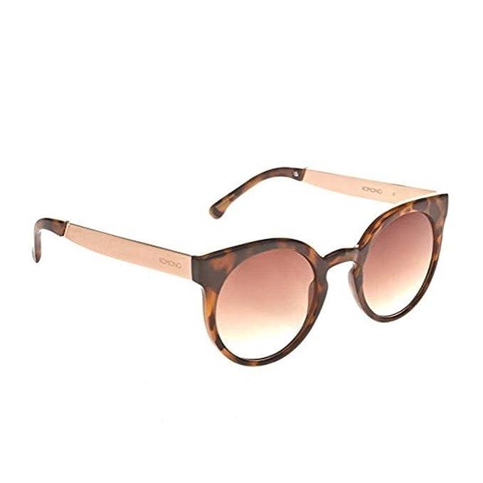 KOMONO Damen Brillengestelle Lulu, Braun (Gris Metal Marron Tortoise/Rose Gold), 46