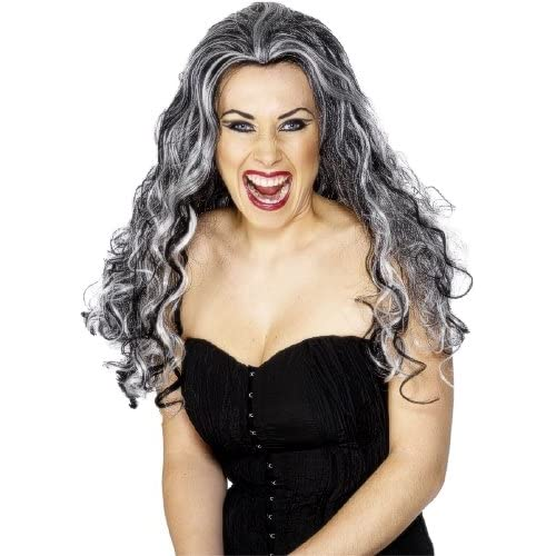 Long Hair Halloween Vampiress Wig