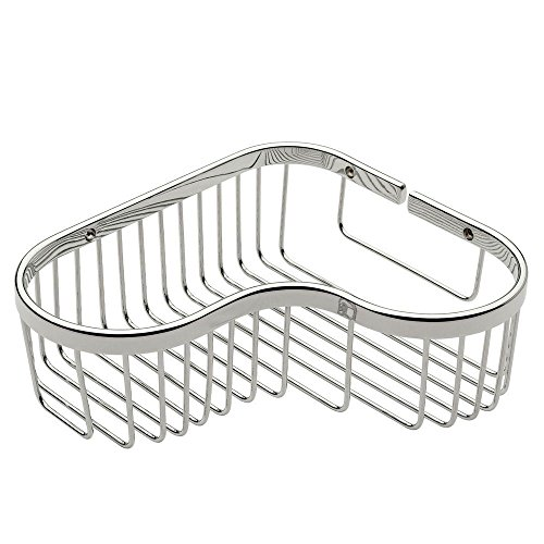 Ginger D405521RB 505L/PC Splash Large Corner Basket Polished Chrome by Ginger