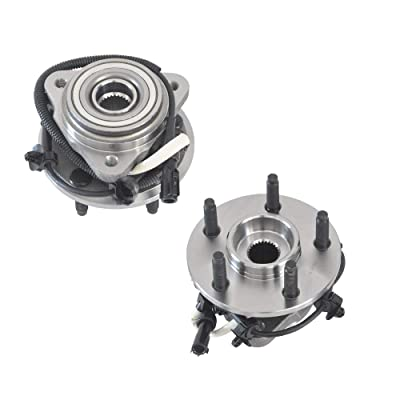 (4WD ONLY) DRIVESTAR 515013 Front Wheel Hub & Bearing Assembly for Ford Ranger 2000 01 2002, 2000-2002 Mazda B3000(5 Lugs w/ABS)(Pair): Automotive