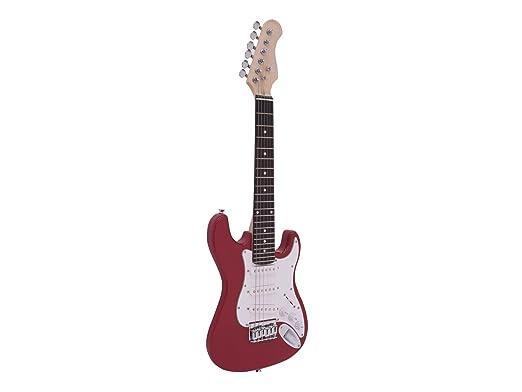 Guitarra eléctrica para niños PATRON START con accesorios, rojo ...