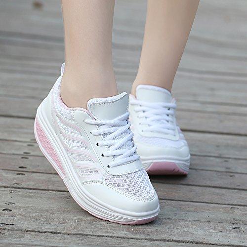 Top Damenstiefel Stiefeletten Wasserdicht Vintage Schuhe Gefüttert Weiches Damen Stiefel Rosa Low Saguaro HwY5Zvq5