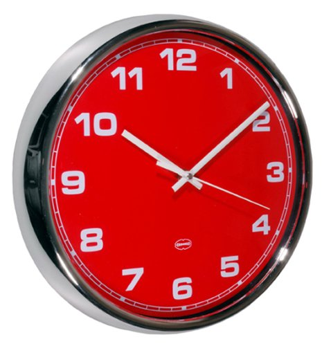 Cabanaz Wall Clock RD, Red Capventure C1201180