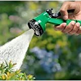 Flying Bird 4 In 1 Multi Functional Water Spray Jet Gun 10 Meter Hose Pipe For Car Wash And Multipal Uses (4 In 1 Water Spray)