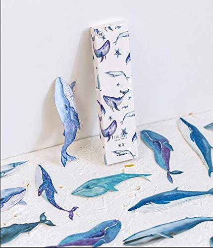 Lesezeichen 30 St/ücke Kleine Karte Drucken Wale Design Lesezeichen f/ür Kinder Frauen Studenten Papier Lesezeichen Lesen Anreize Sch/üler Preise Klassenzimmer Auszeichnungen Angebot Kleines Geschenk