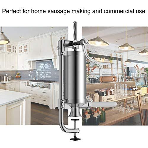 Amazon.com: Goplus máquina para rellenar salchichas ...