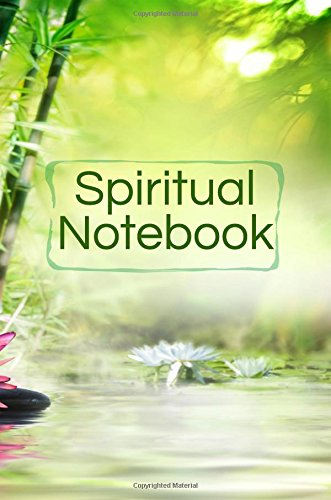 Spiritual Notebook: Blank Prayer Journal, 6 x 9, 108 Lined Pages
