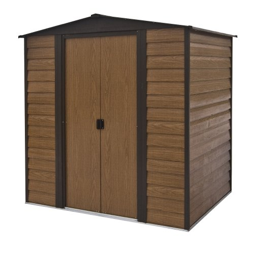 51I0Z718YkL. SS500  - Rowlinson 6 x 5ft Woodvale Metal Shed