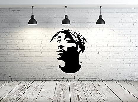 5.8 x 8.3 in Tupac Face Wiederverwendbare Schablone A3 A4 A5 /& gr/ö/ßere Gr/ö/ßen Widerverwendbare PVC-Schablone 148 x 210 mm moderner Musikstil//Tupac A5 size