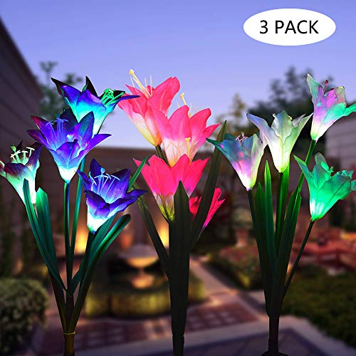 SZXSDY Outdoor Solar Lights Multi Color product image