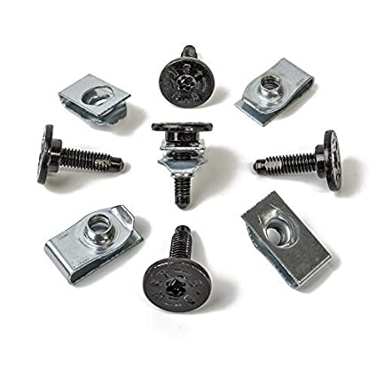 10 x metal tornillos Torx T30 M6 + Soporte grapas | cl de 0379 + cl