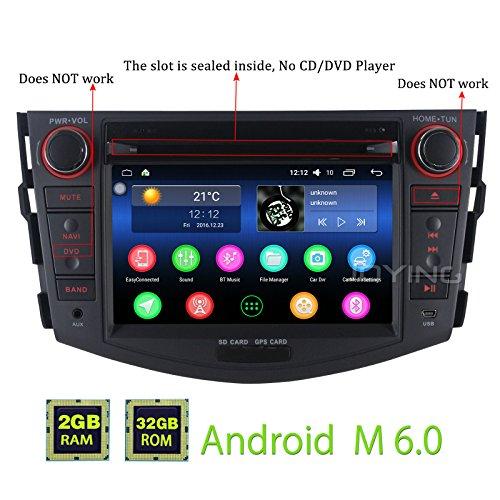 JOYING for Toyota RAV4 2006-2011 Double Din 7 inch 2GB Intel
