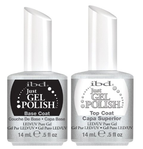 IBD just Gel uv/led Gel Polish - TOP + BASE 2 x 14ml - New Genuine by HealthMarket by HealthMarket