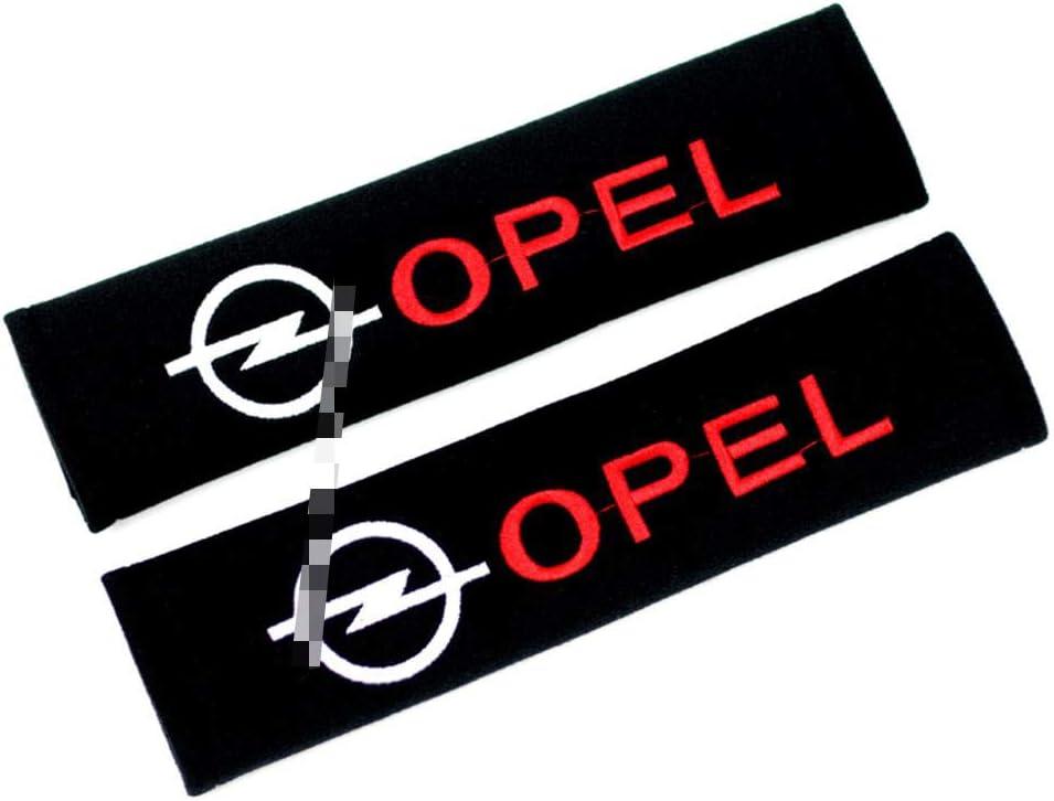 processus de Broderie,Opel,33cm S/écurit/é Prot/ège-Ceinture Coton Mati/ère Velours etc LAUTO 2pc Housse de Ceinture de s/écurit/é en Style Sport Automobile pour Corolla Mini Opel St MYBESTLEN Power