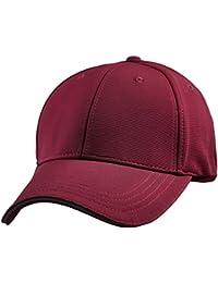 Classic Solid Color Camo Baseball Cap Adjustable Sport Running Sun Hat