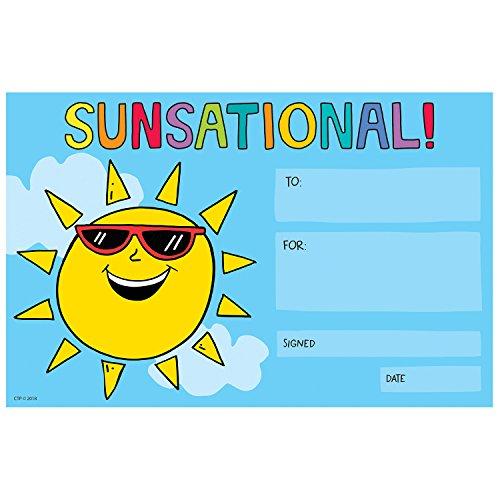 Creative Teaching Press Mid Century Mod Sunsational! Awards (8166)