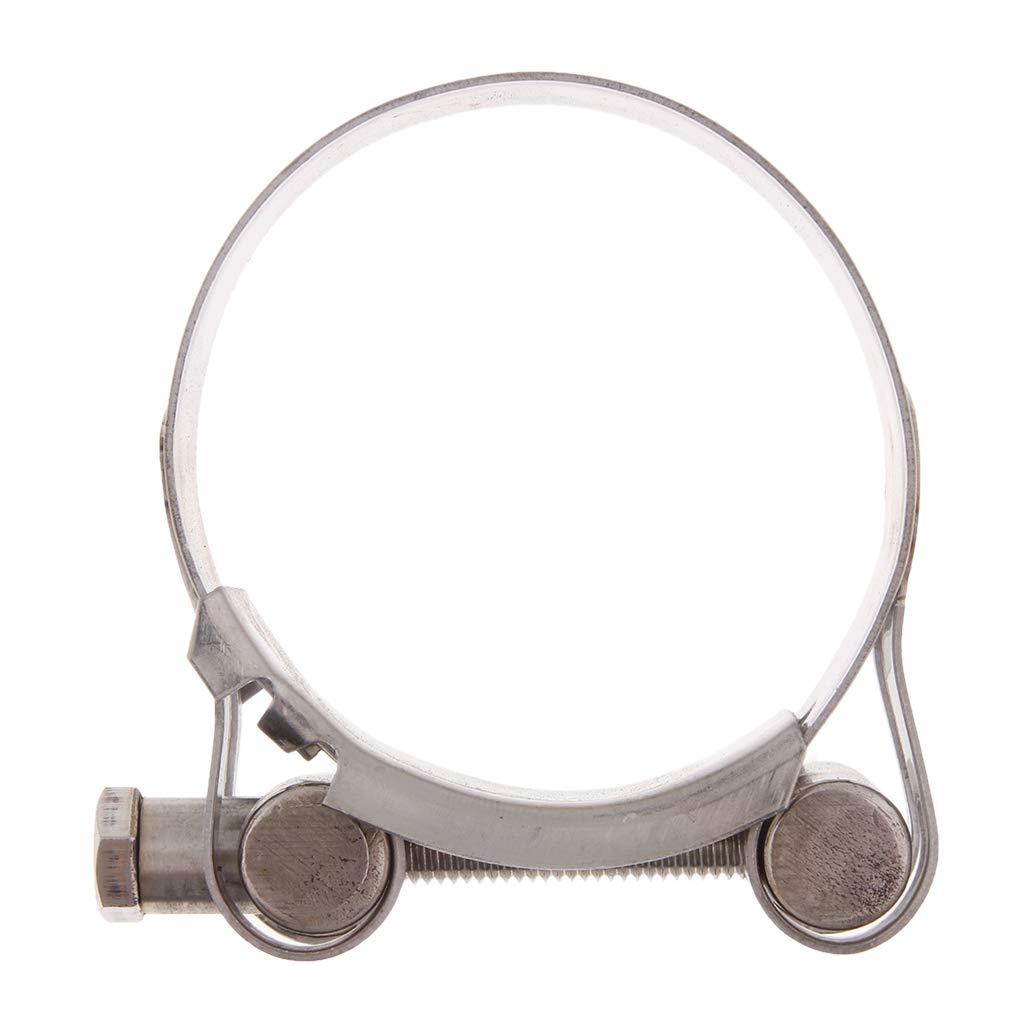 52-55mm Homyl Fascetta Stringitubo Supporto Tubo Di Scarico Silenziatore Acciaio Inox Moto
