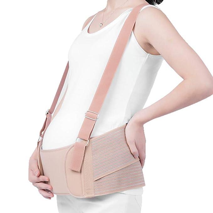 Cinturón Para Mujeres Embarazadas Soporte Especial Para Mujeres Embarazadas Con Abdomen Transpirable Cinturón De Soporte Para