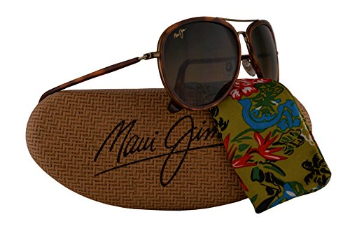 Maui Jim Honomanu Sunglasses Antique Gold w/Polarized Bronze Lens - Clooney Sunglasses