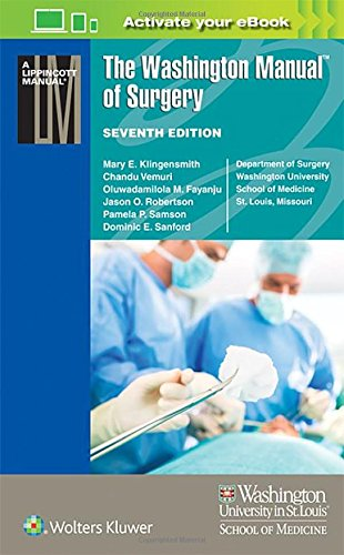 The Washington Manual of Surgery (Lippincott Manual Series)