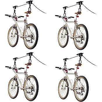 Amazon Com 4 Bike Elevation Garage Bicycle Hoist Kit