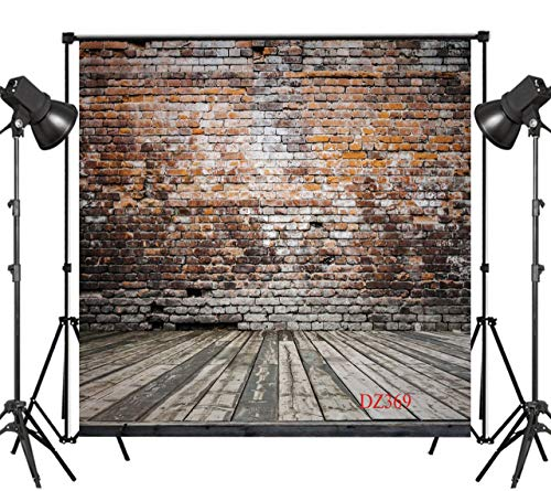 LB 10x10ft Brick Wall lavender Thin Vinyl Customized Backdrop CP Photography Prop Photo Background DZ369 -