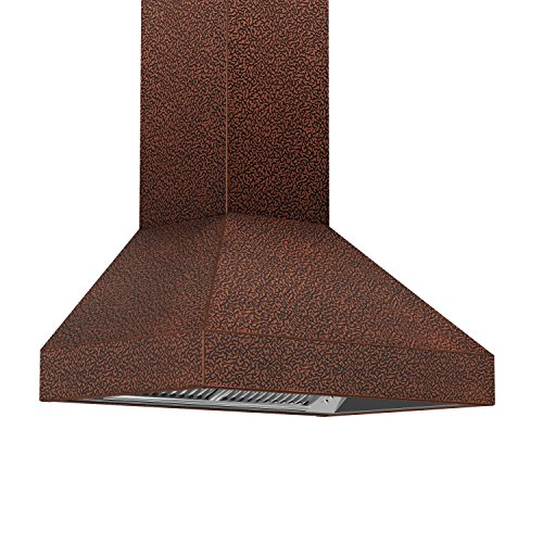 8667E 30 Mount Embossed Copper Finish