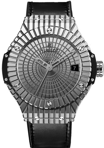 Hublot Big Bang Steel Caviar Stainless Steel Dial Mens Watch 346.SX.0870.VR