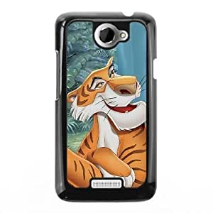 The best gift for Halloween and Christmas HTC One X Cell Phone Case Black Freak badass Shere Khan by disney villains VIK9182341