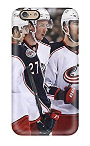 For Iphone 6 Protector Case Columbus Blue Jackets Hockey Nhl (4) Phone Cover