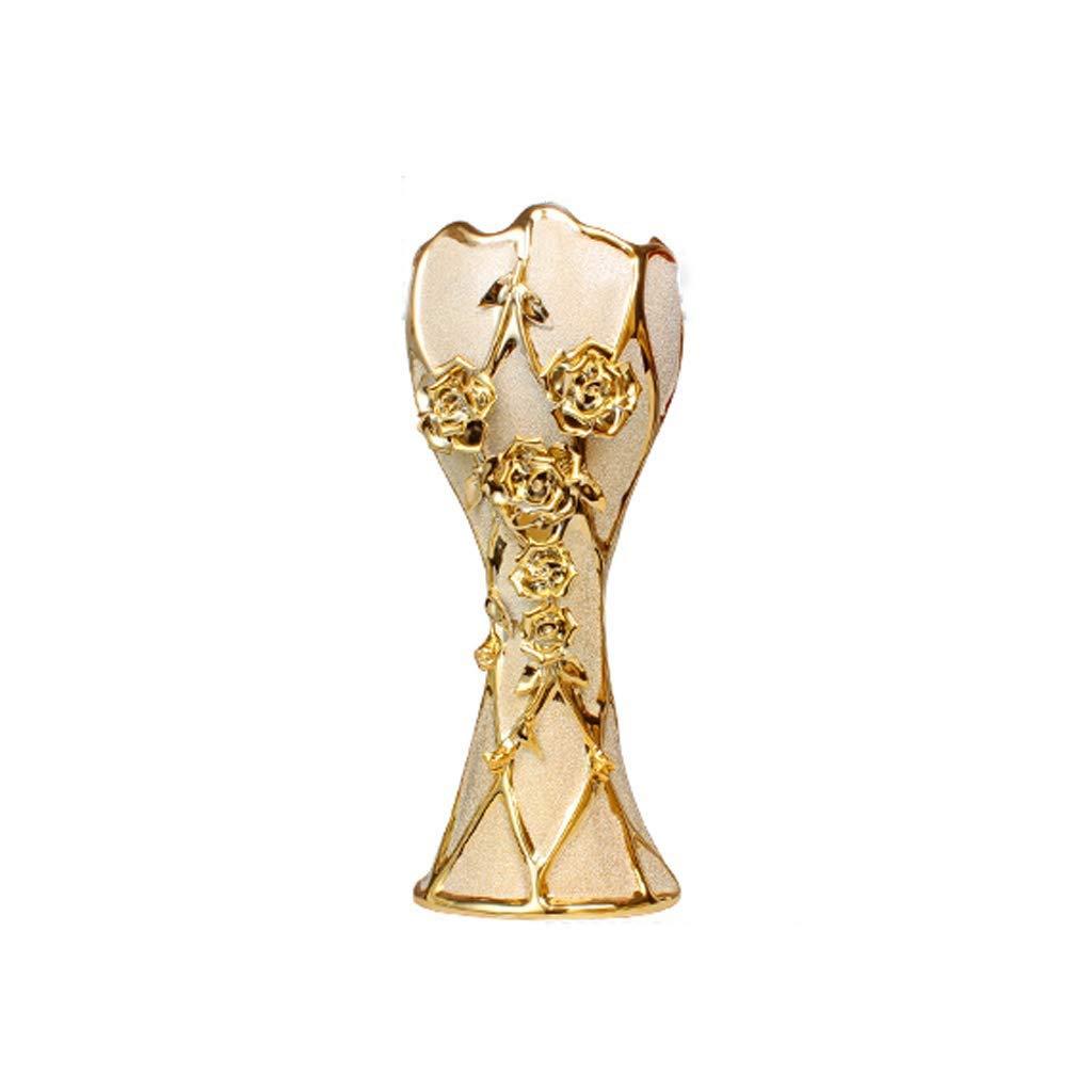 WSJTT 花瓶、装飾的な花瓶セット、耐久性のある樹脂の花瓶セット装飾、素朴な装飾が施されたダイニングテーブルセンターピース花瓶ホームアクセントのリビングルーム、寝室、キッチン&もっと B07S796BXP