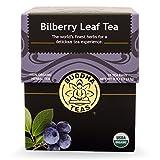 Bilberry Leaf Tea - Organic Herbs - 18 Bleach Free Tea Bags