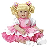 Adora Toddler 'Ice Cream Party' 20' Girl Weighted Doll Gift Set for Children 6 Huggable Vinyl Cuddly Snuggle Soft Body Toy