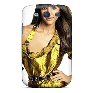 HdANyWg1683pFmZB Jessica Alba Brunette Fashion Tpu S3 Case Cover For Galaxy