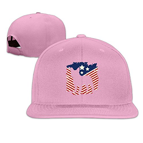 MAGIICAP Adult Trucker Cap, Classic Patriotic French Bulldog American Flag Adjustable Hip-Hop Flat-Bill Baseball Hat (French American Dressing)