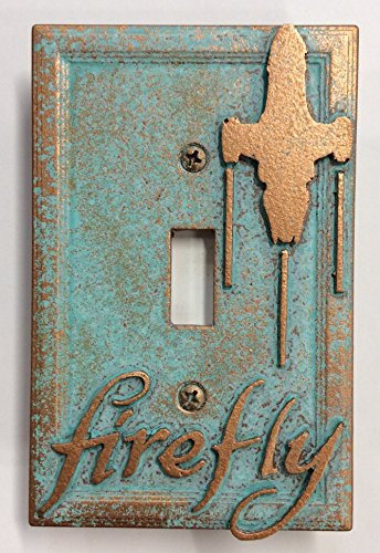 Sci-Collectables Firefly - Light Switch Cover (Aged Patina)