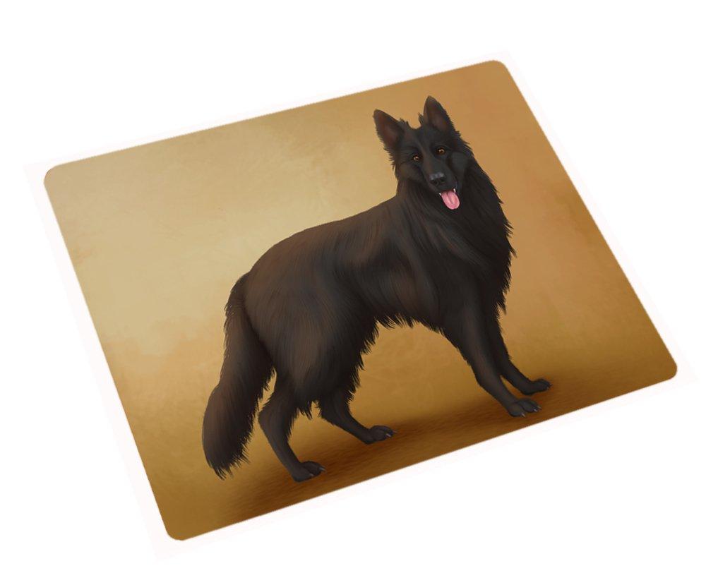 Black German Shepherd Dog Rectangle Envelope Seals (20)