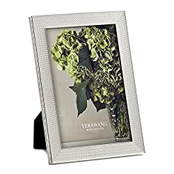 Wedgwood with Love Nouveau Frame 4x6 Inch Silver