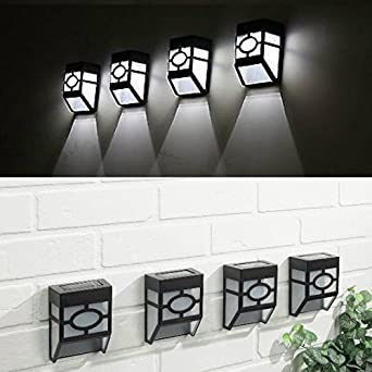 oriental outdoor lighting. garden mile pack of 4 new tiffany style black and white modern oriental solar outdoor lighting