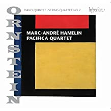 Ornstein: Piano Quintet Op.92 & String Quartet No.2
