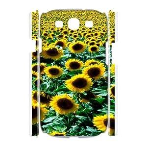 Creative Phone Case Sunflower For Samsung Galaxy S3 I9300 F568356