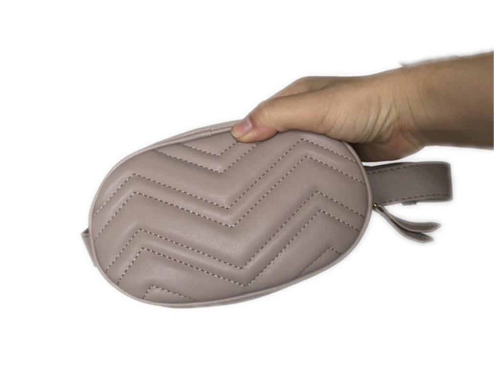 XUEERBAO Women Round Belt Bag Chest Handbag Red Black Beige NEW Fashion Hight Quality 904