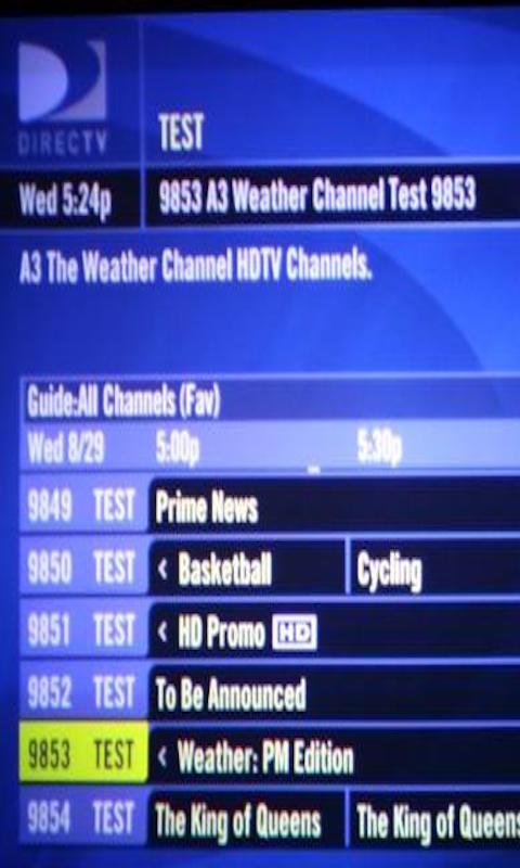 Satellite Channel Guide 2016