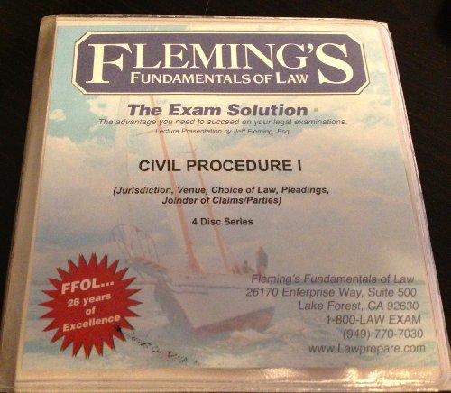 Fleming's Fundamentals of Law Civil Procedure I