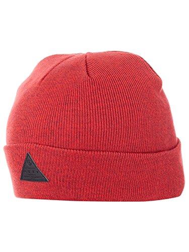 Maroon Beanie Knit Reversible (NEFF Men's Dwrx Slouchy Knit Beanie, Maroon/Red, One Size)