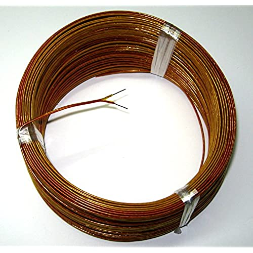 Wholesale High Temperature K-type Thermocouple Wire AWG 24 w. Kapton insulation - 5 yd