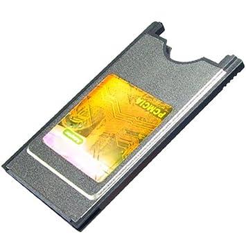 ATA IDE CF Compacto Flash a tarjeta PCMCIA adaptador: Amazon ...