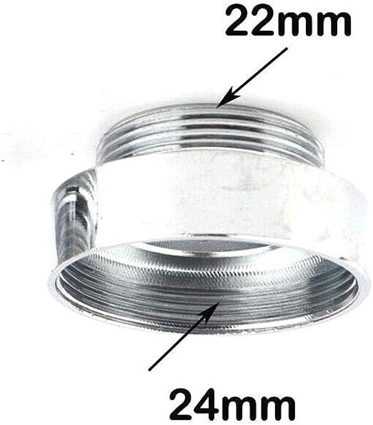CLTYQ 2pcs Grifo de la Cocina Adaptador Plateado Metal s/ólido Tap Conector para purificador de Agua 16 mm 22 mm Hembra a Macho